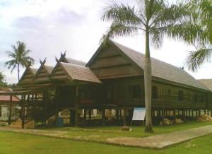 Rumah adat Karaeng Labakkang di Pangkep